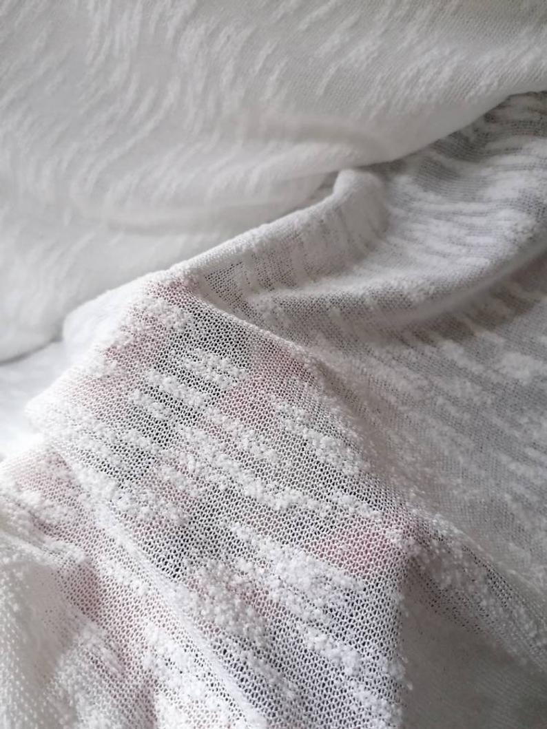 Strickjacke Weiß Braut Jacke 4
