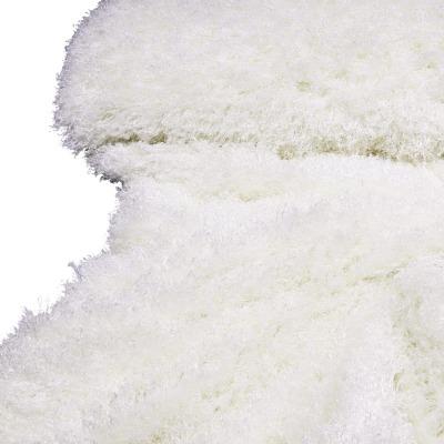Poncho mit Kapuze - Weiß