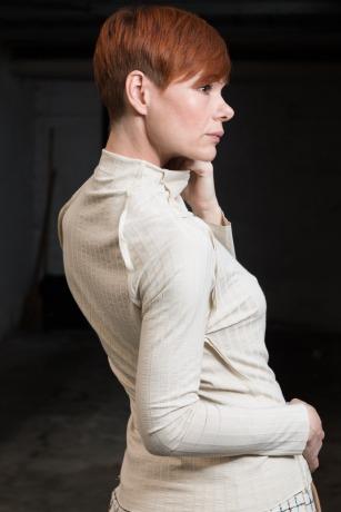 ROTETULPE Rollkragen Pullover - Minimalistische Pullover