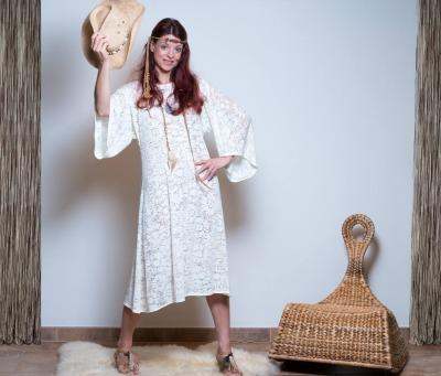 Brautkleid Boho Blumen Kleid Sommer Kleid