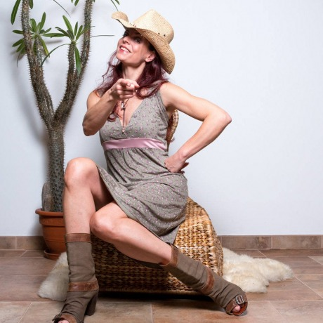 Kleid mit Blumenmuster Boho Kleid Sommerkleid
