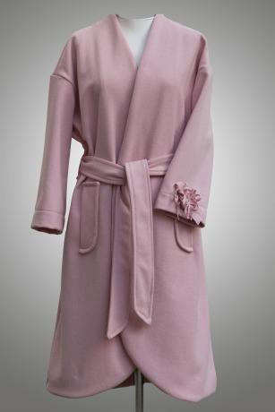 ROTETULPE Mantel Braut Jacke Minimalistisch Wolle