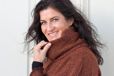 Strickpullover aus Wolle mit Rollkragen Oversized