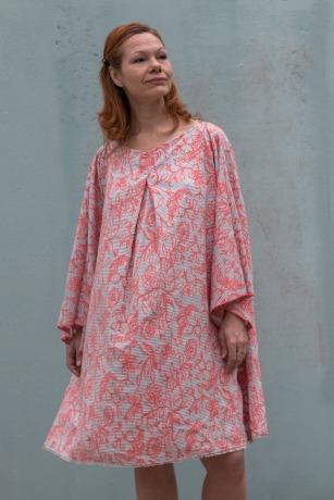 Kleid Mirabell Sommerkleid Leinenkleid Oversized Kleid