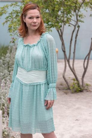 Boho Kleid aus Tüll mit Gürtel