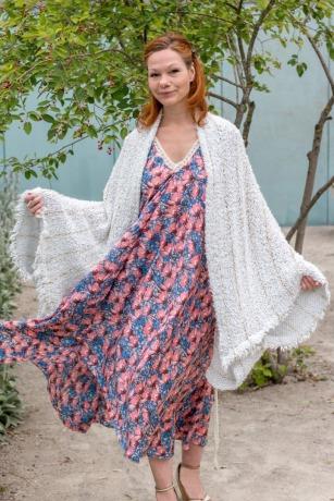 Sommer Kleid Blau ROTETULPE Kleid Sophie