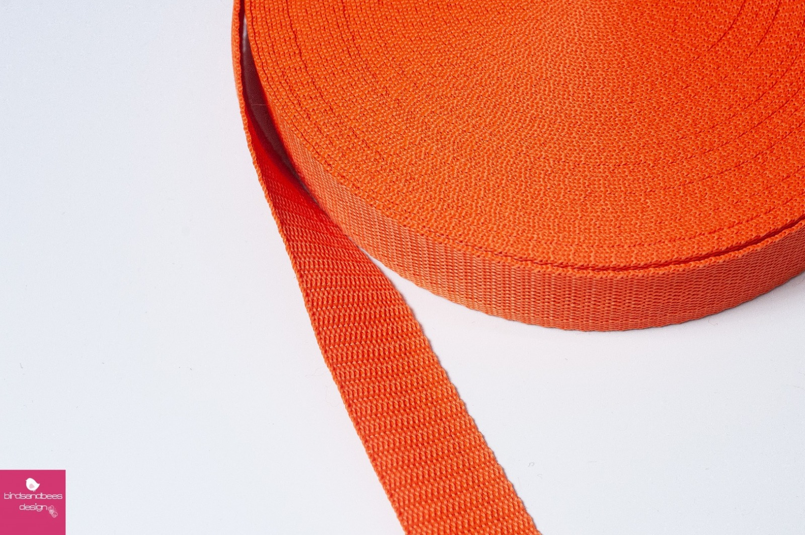 Gurtband Stern 1m 30mm - Orange