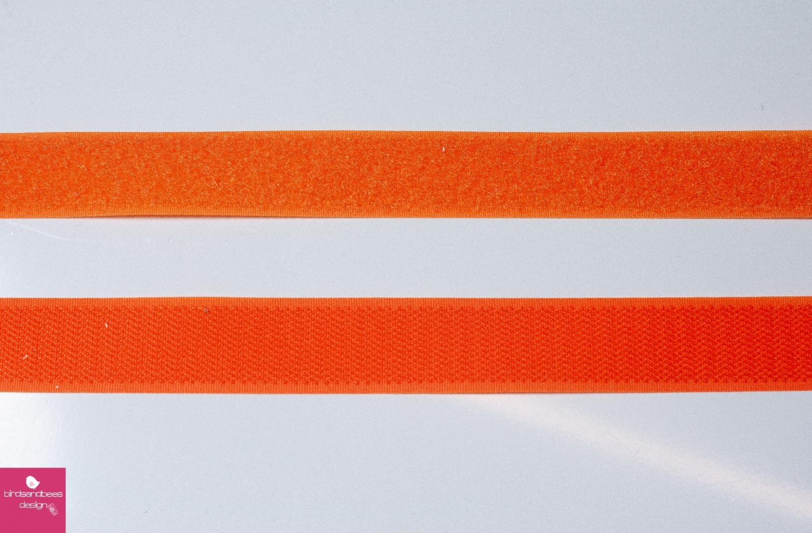 Klettband 1m 25mm - Orange