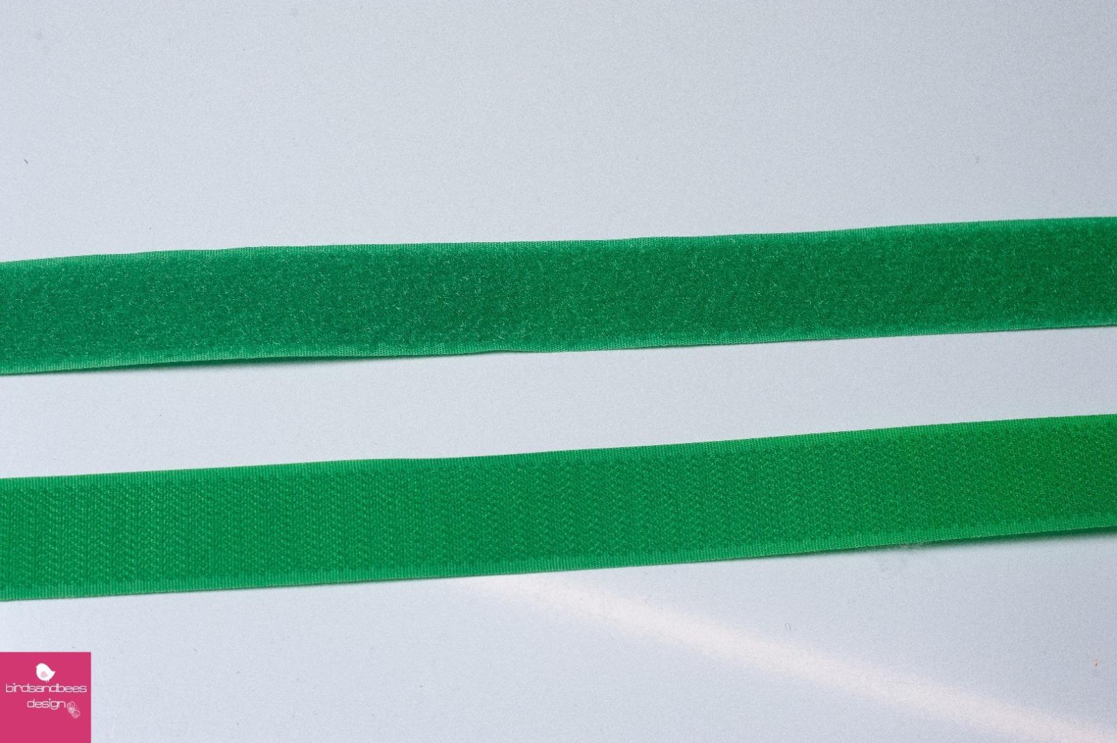 Klettband 1m 25mm - Grün