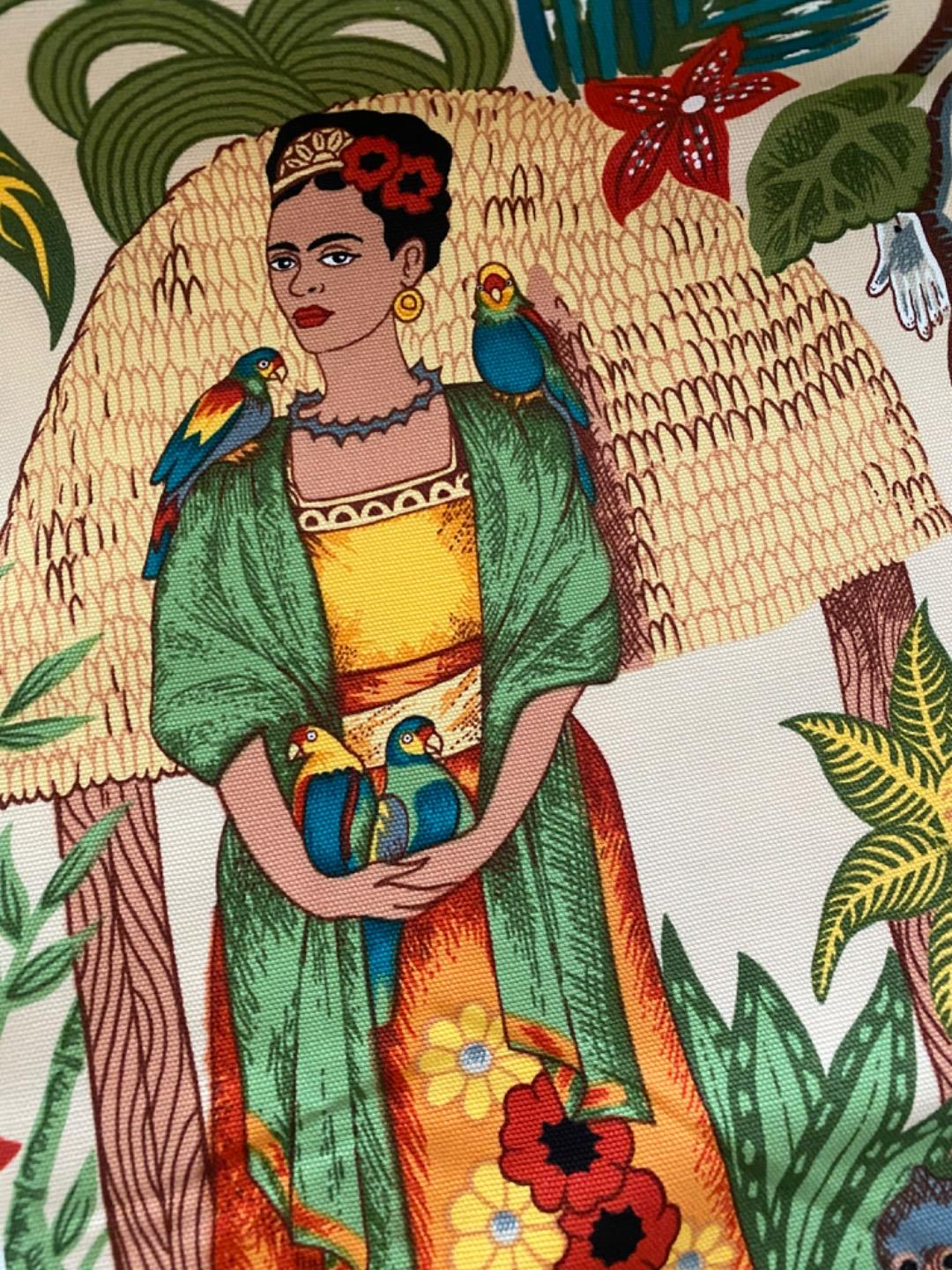 Frida Kahlo Fridas Garden Canvas by