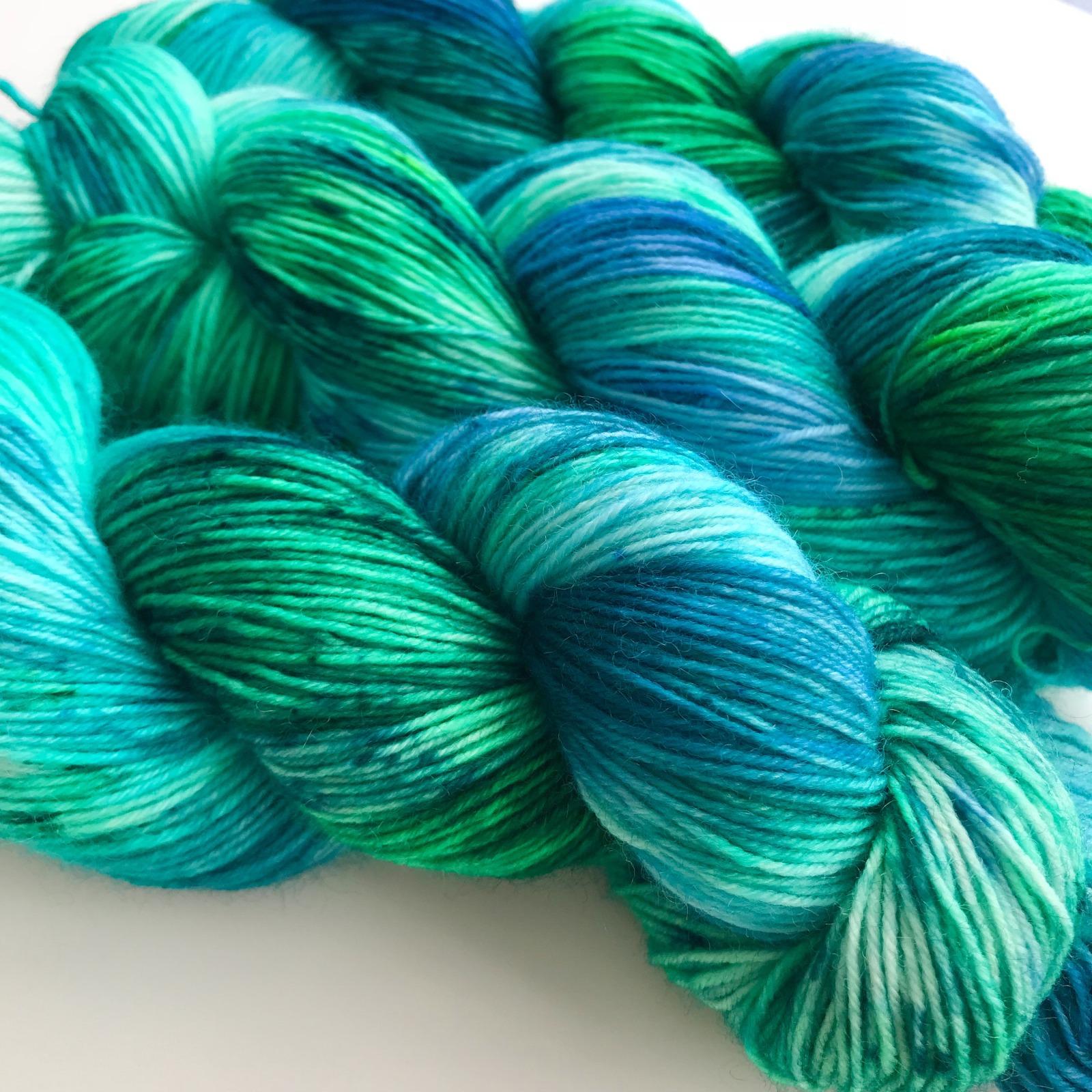 OCEAN BREEZE - handgefärbte Sockenwolle 2