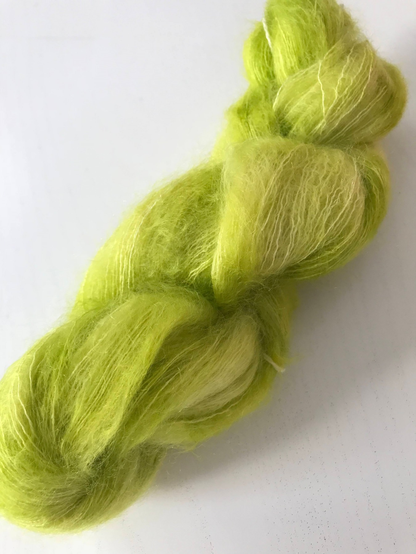Kid Mohair Silk LEMON TREE 2
