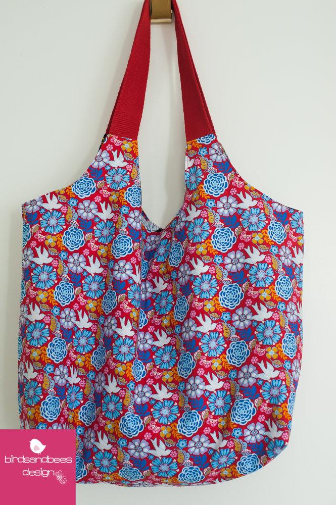 Schultertasche-Markttasche Frieda 2