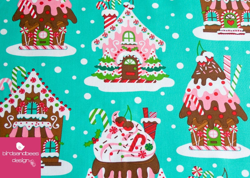 Gingerbread Houses by Michael Miller 2