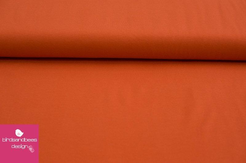 Baumwoll-Jersey UNI orange
