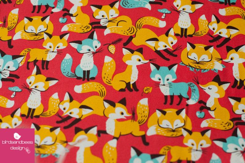Foxes von COSMO Canvas 3