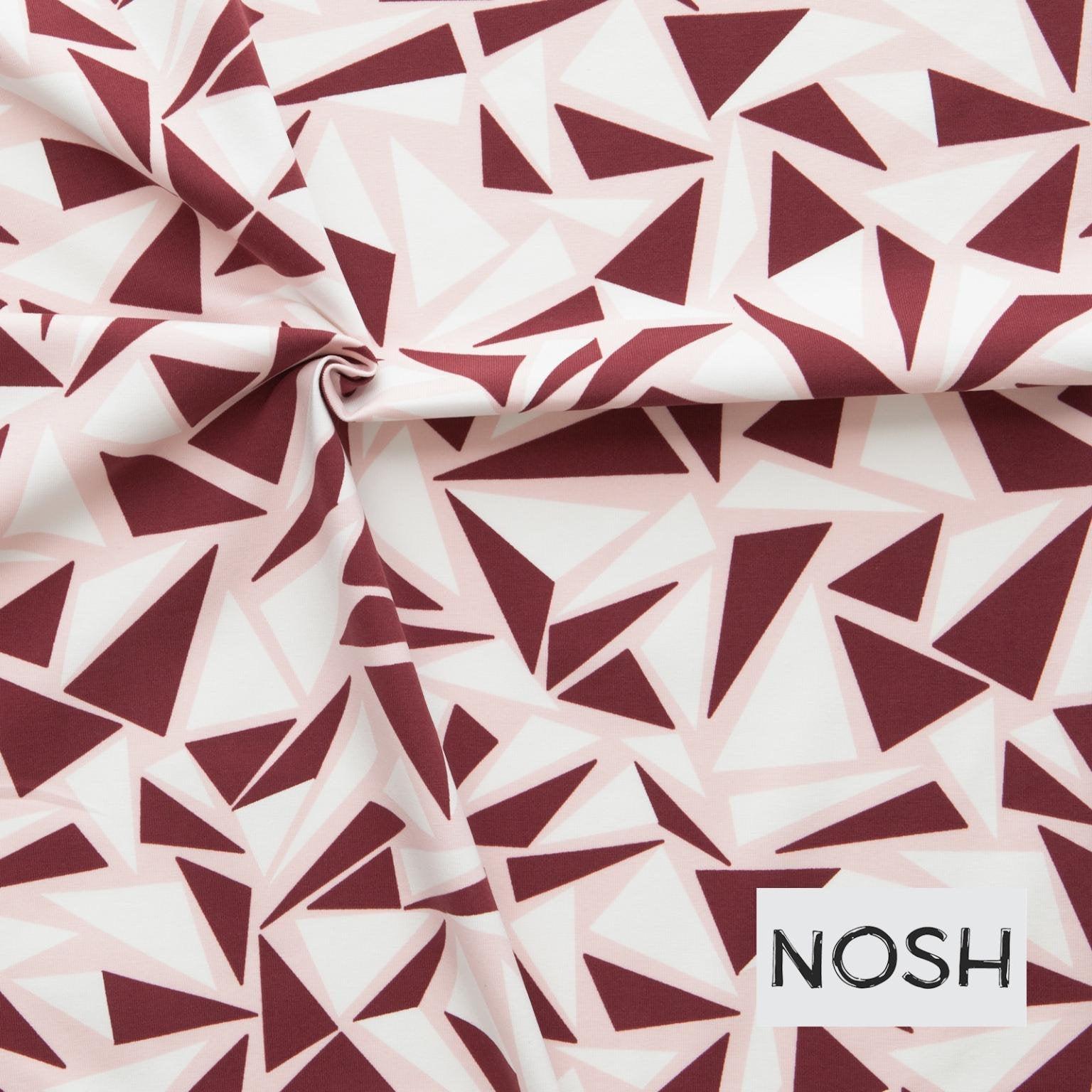 SPARK burgund NOSH Organics Jersey 4