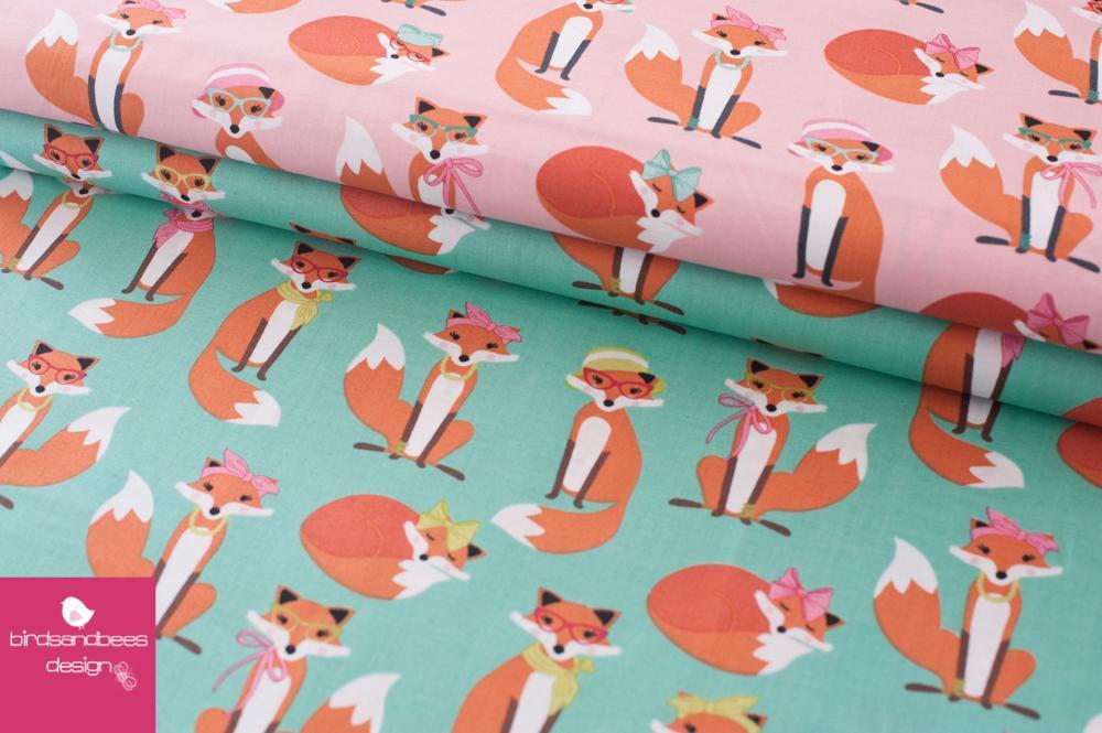 Fabulous Foxes mint by RKaufman 2