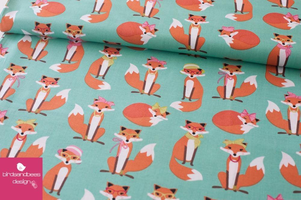 Fabulous Foxes mint by RKaufman 3