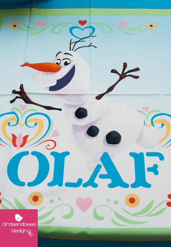 Disney FROZEN Dancing Olaf PANEL 3