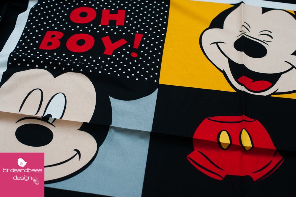 Disney MICKEY Oh boy PANEL 2