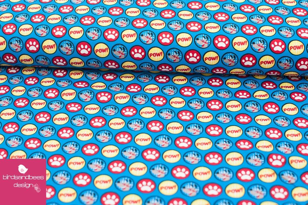 SUPERDOG Pfoten BW-Jersey von hilco 4