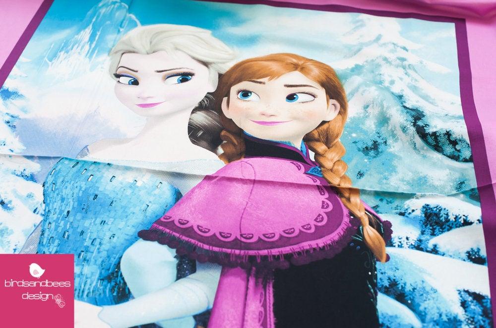 Disney FROZEN Snowing scenic PANEL 2