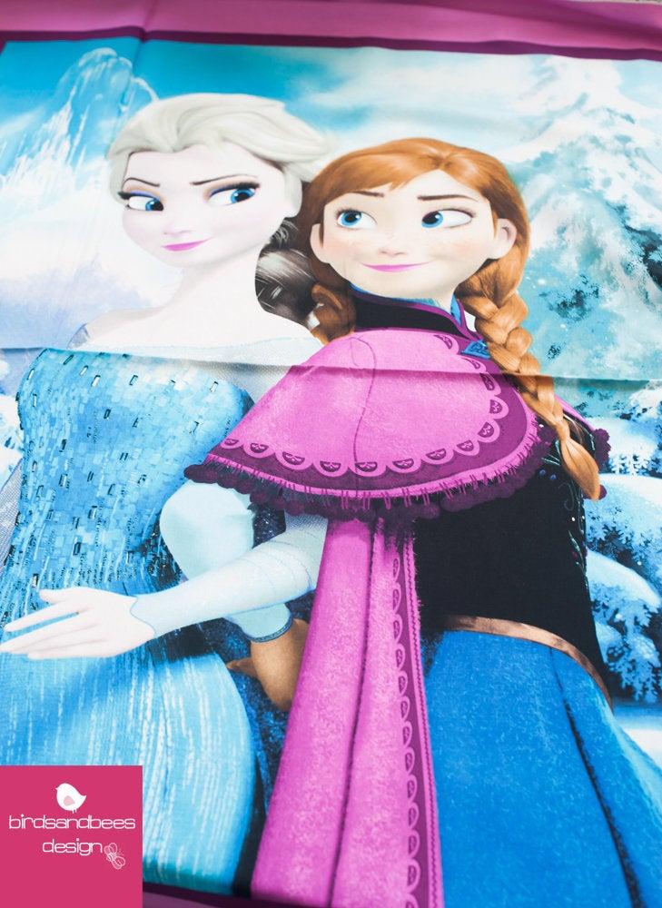 Disney FROZEN Snowing scenic PANEL 4