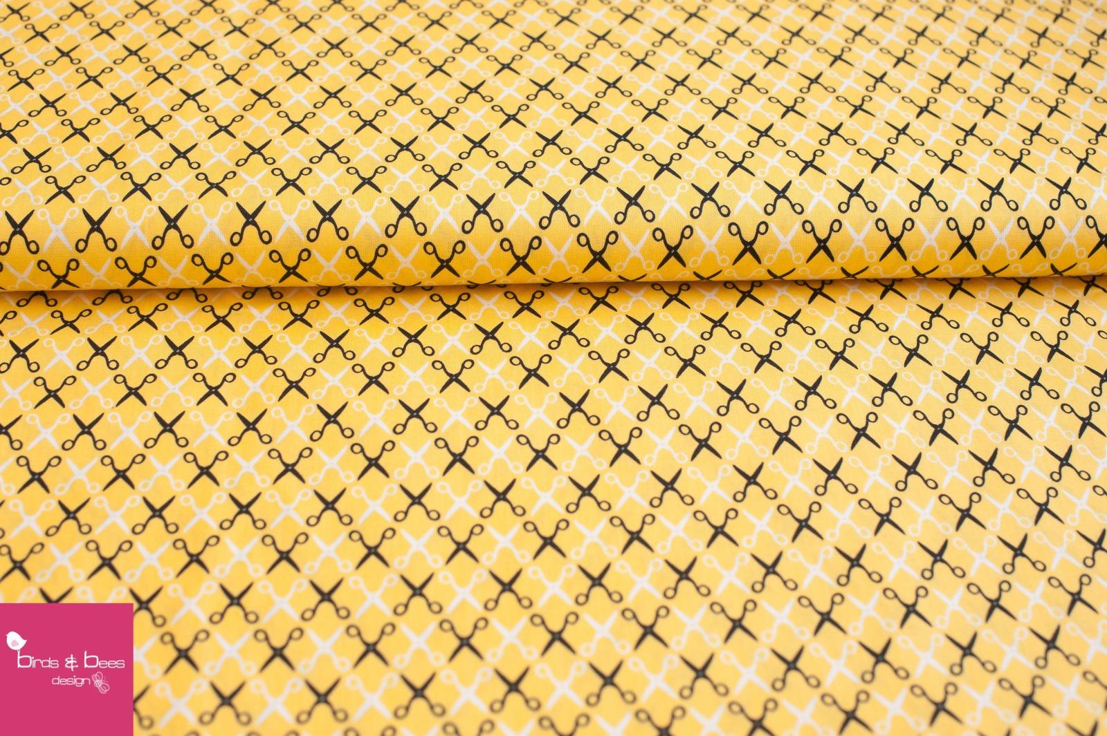 sewing studio Scheren gelb by Robert