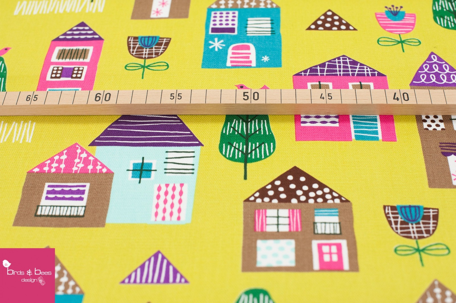 HOUSES Canvas by cosmo 2