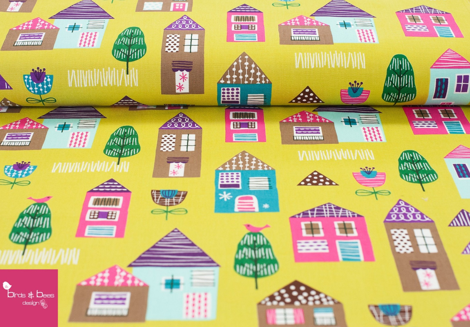 HOUSES Canvas by cosmo 4