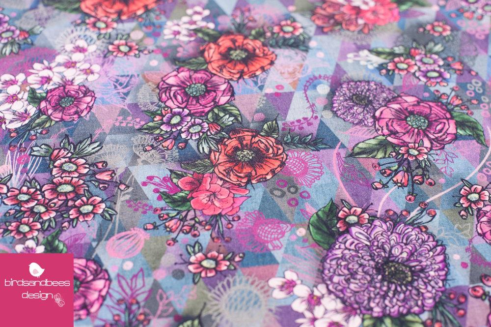 VIGO Flowers by Lila Lotta Jersey