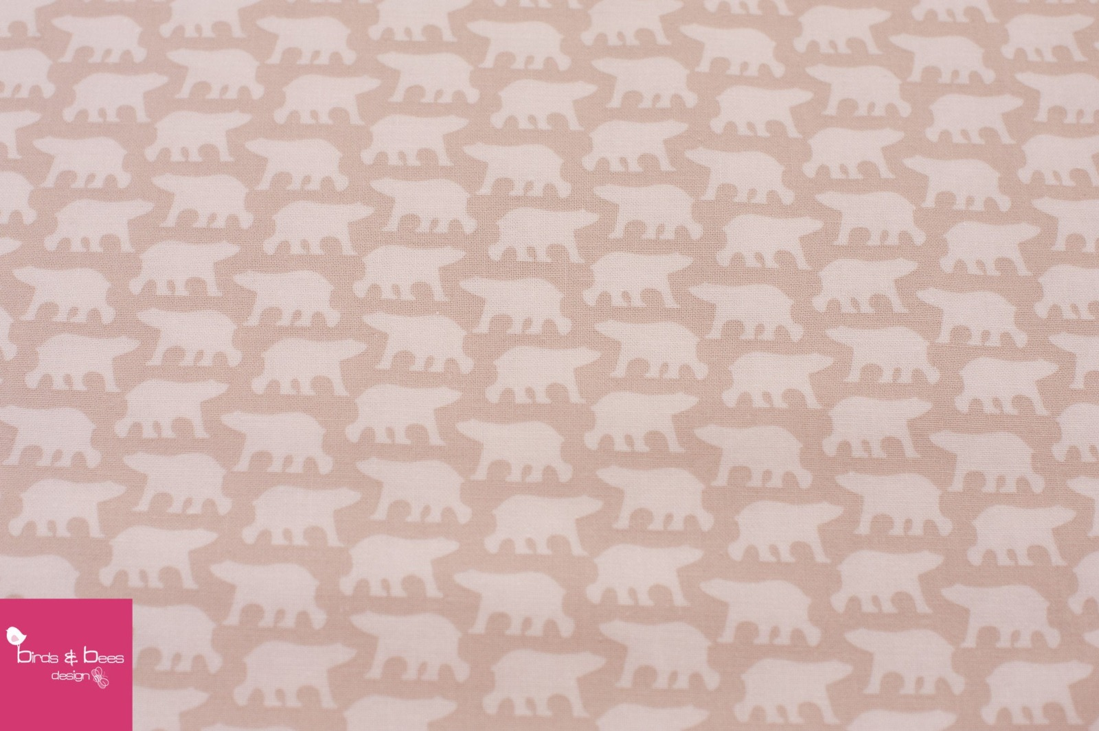 ICE BEAR beige by Copenhagen Prints