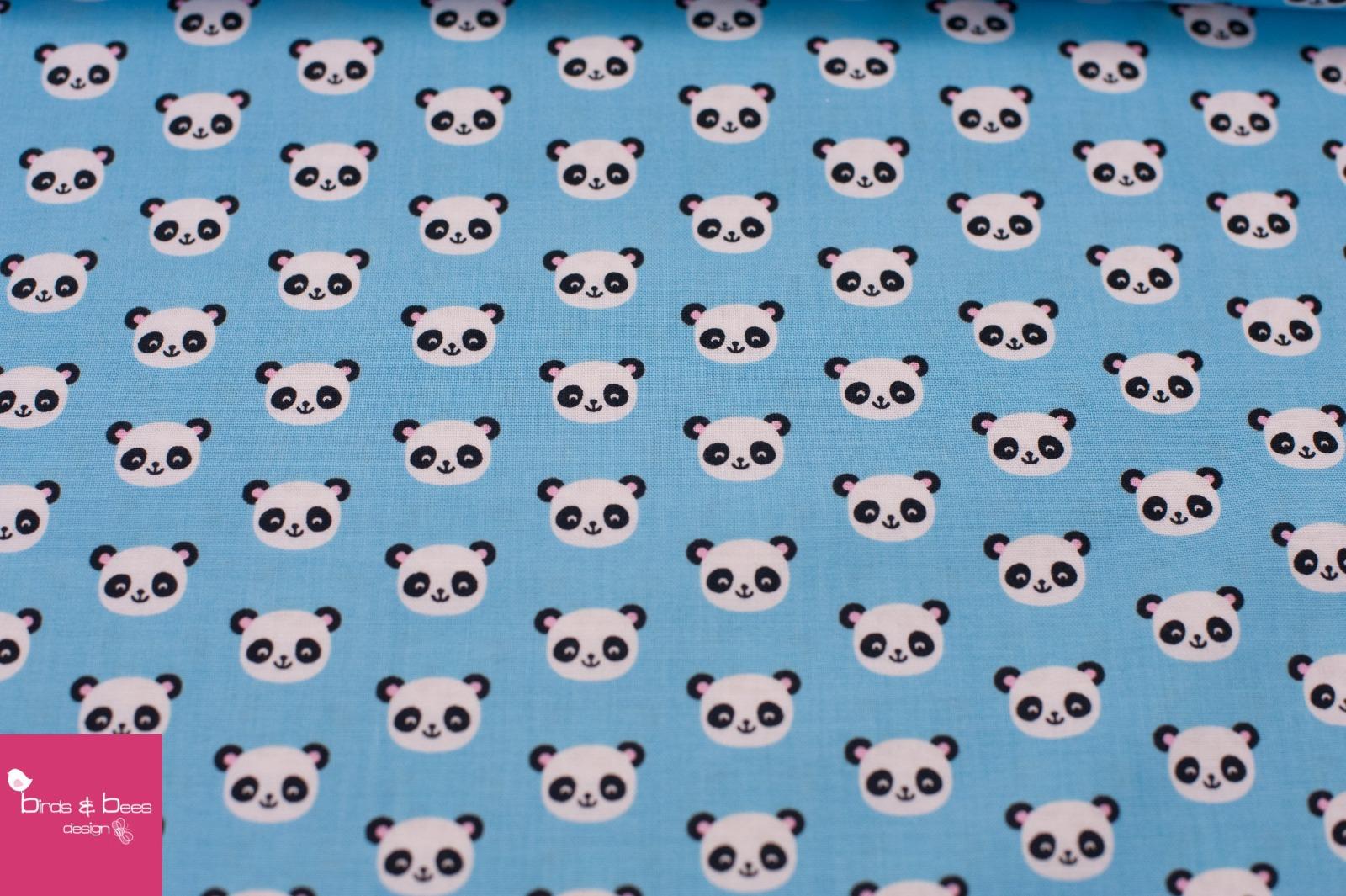 URBAN ZOOLOGIE MINIS panda blau