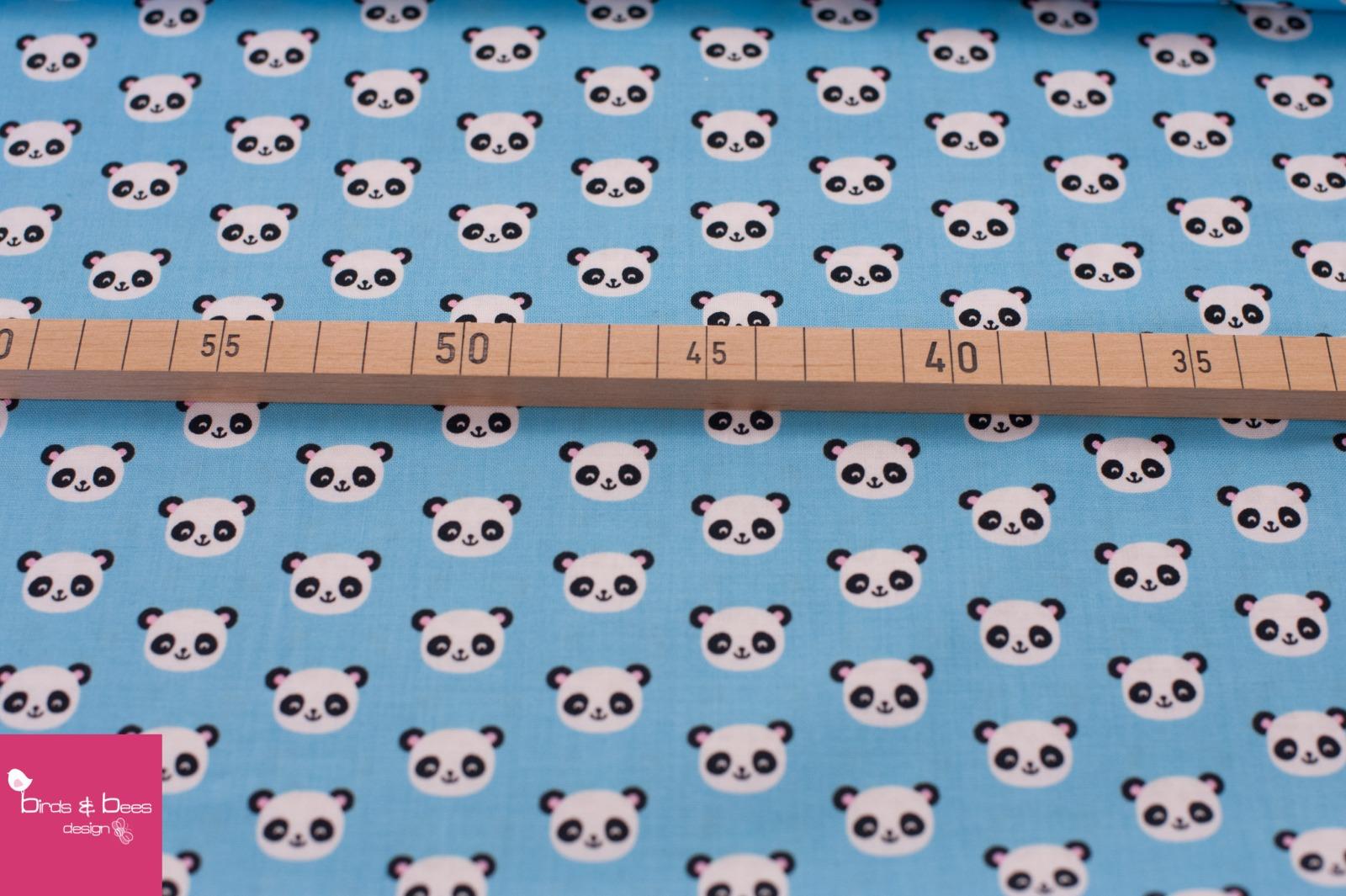 URBAN ZOOLOGIE MINIS panda blau 2
