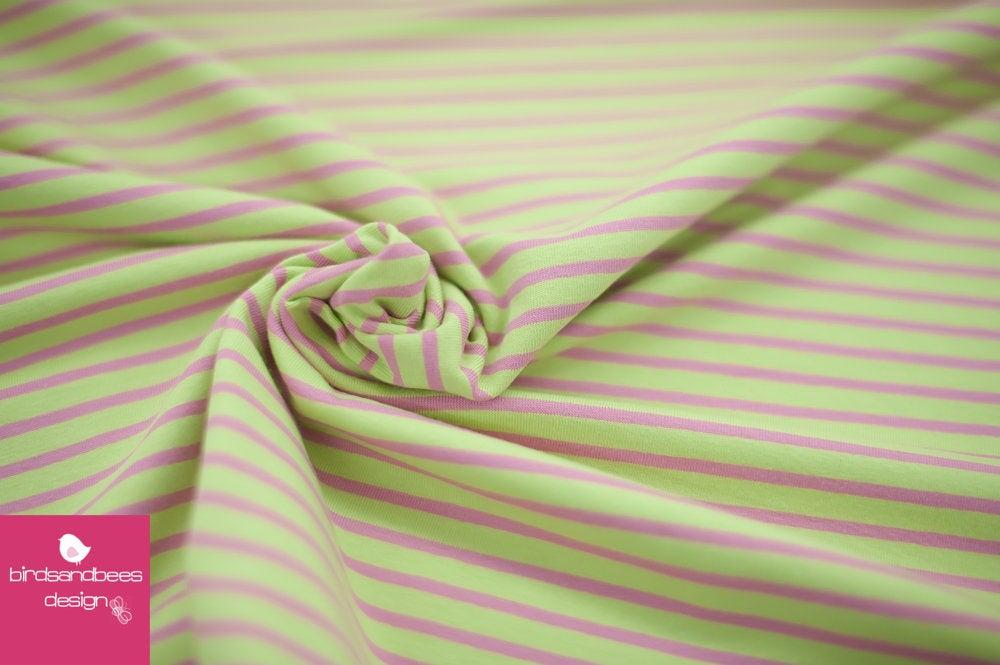 CAMPAN RINGEL-Jersey apfel-rosa von hilco