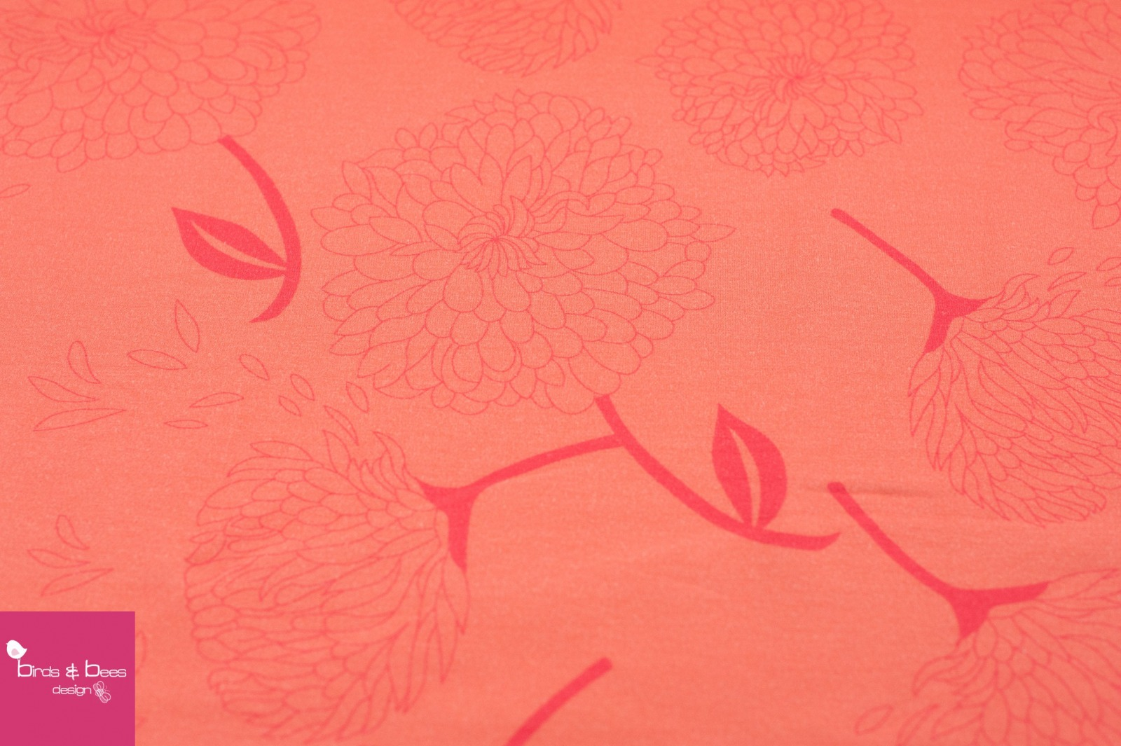 Jersey ADELE FLOWER lachs