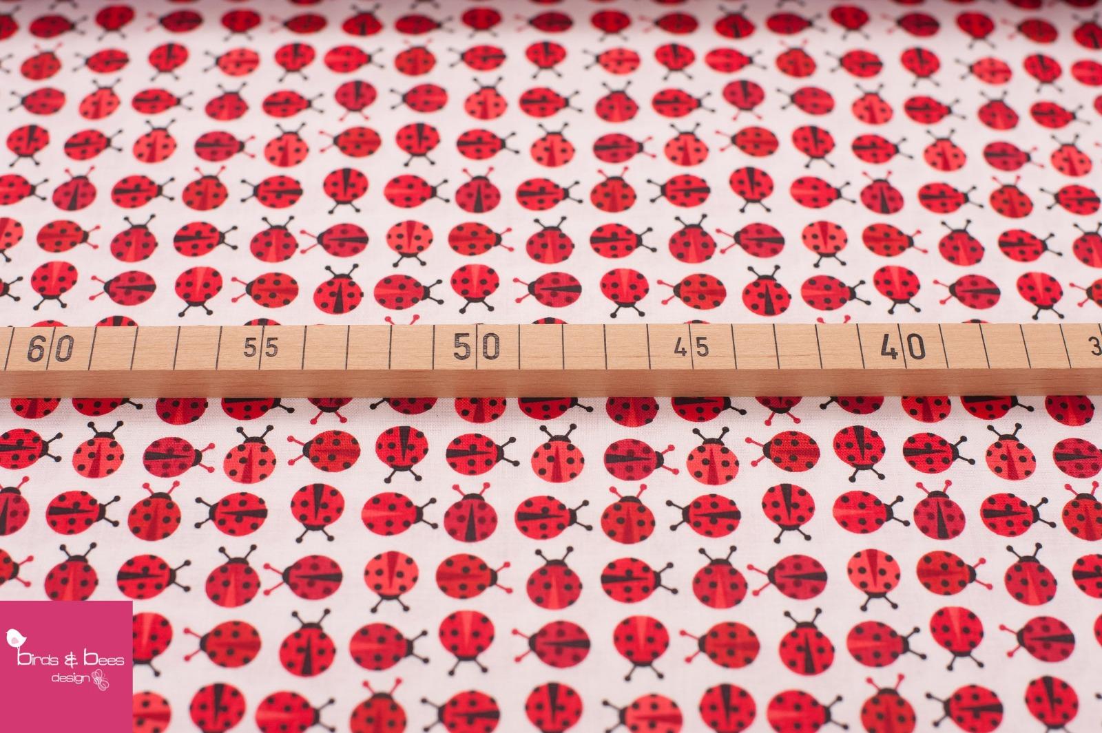 URBAN ZOOLOGIE MINIS ladybugs red 2