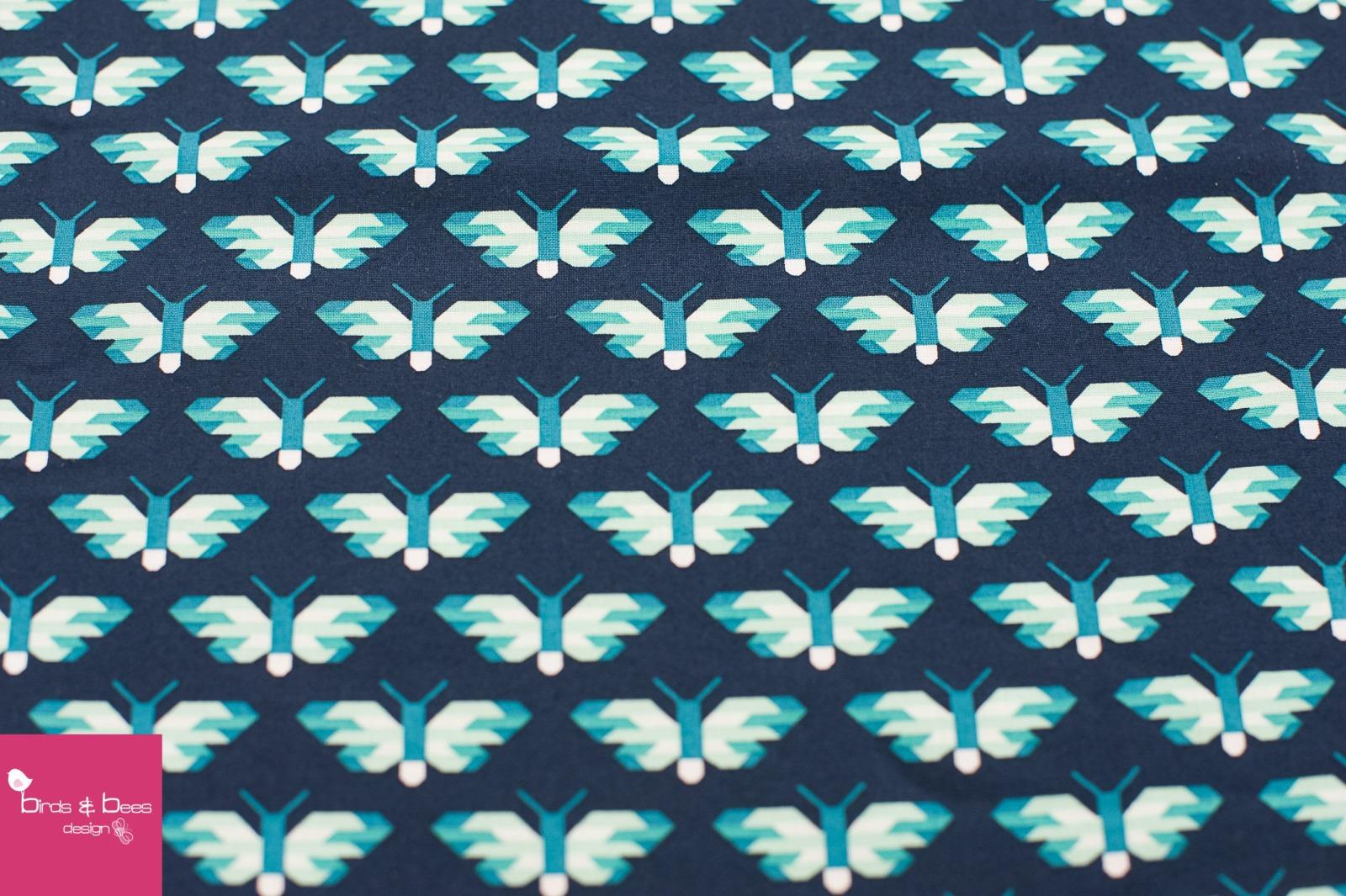 PACIFIC butterfly dunkelblau