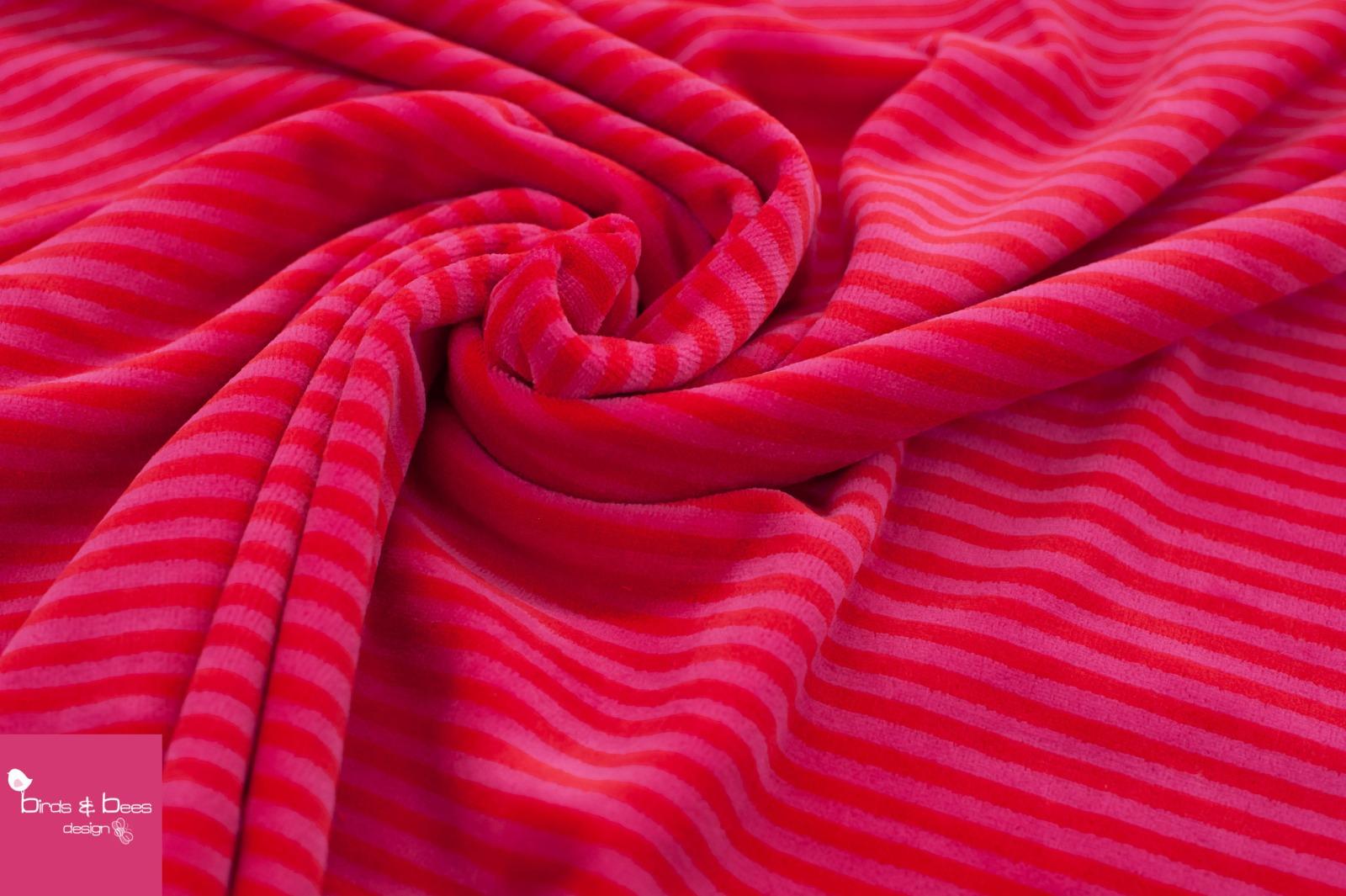 NICKI Ringel rot-pink