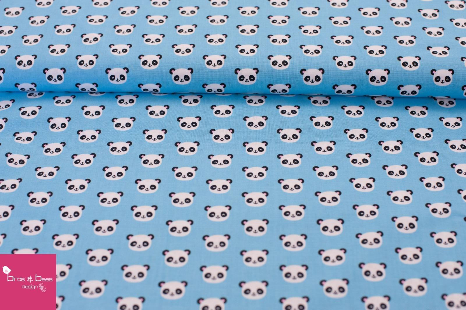 URBAN ZOOLOGIE MINIS panda blau 4