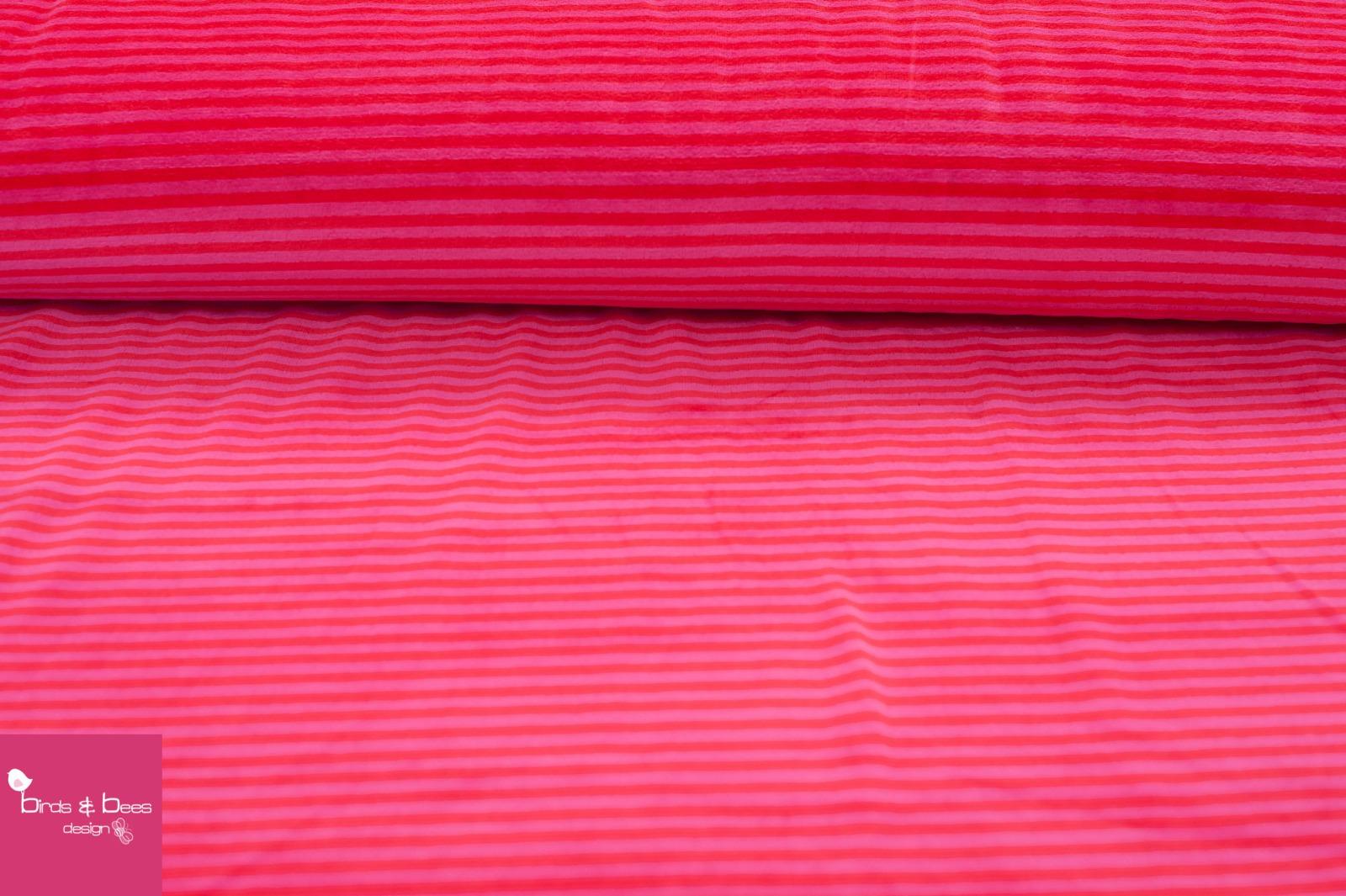 NICKI Ringel rot-pink 2
