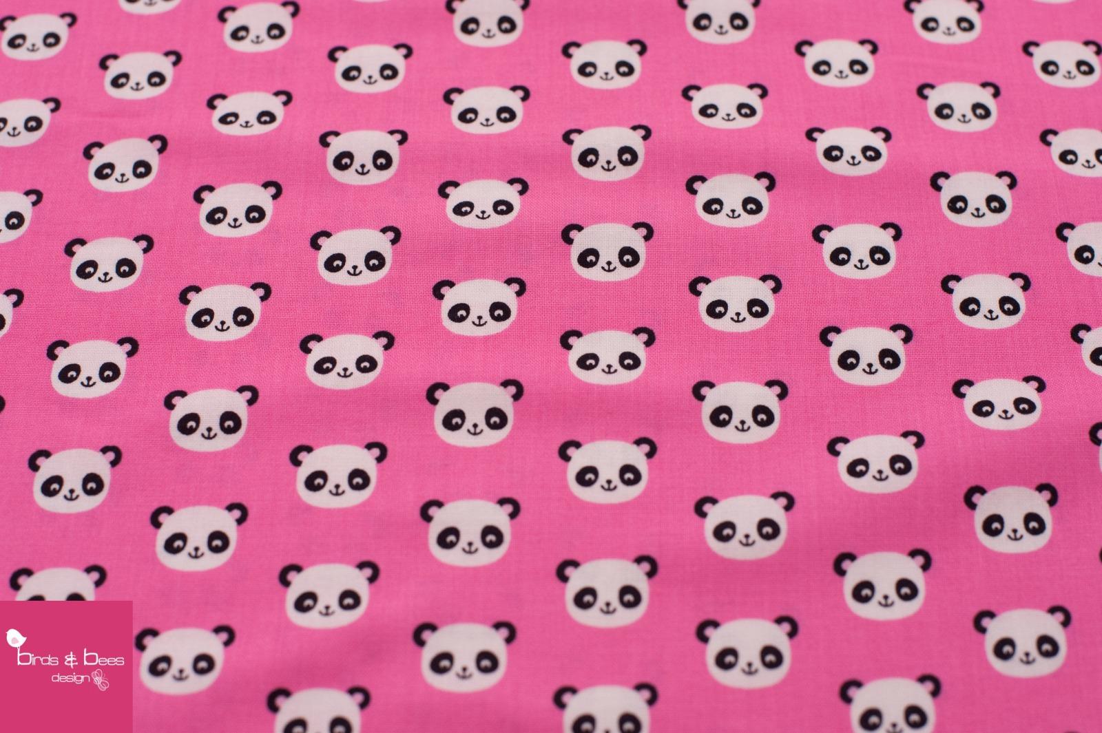 URBAN ZOOLOGIE MINIS panda pink 3