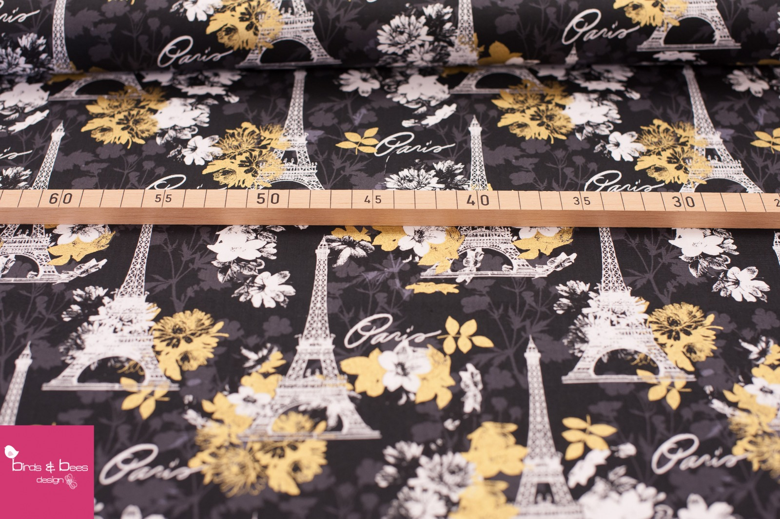 Paris Midnight by David Textiles 2