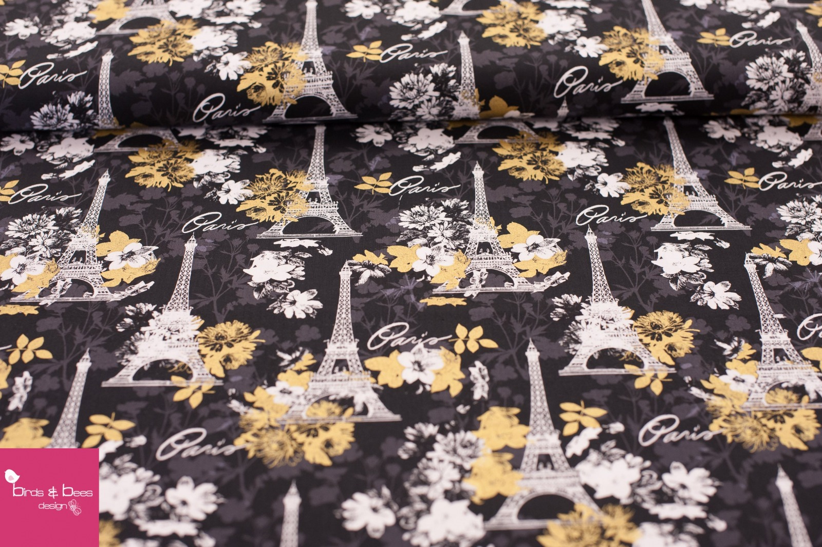 Paris Midnight by David Textiles 3