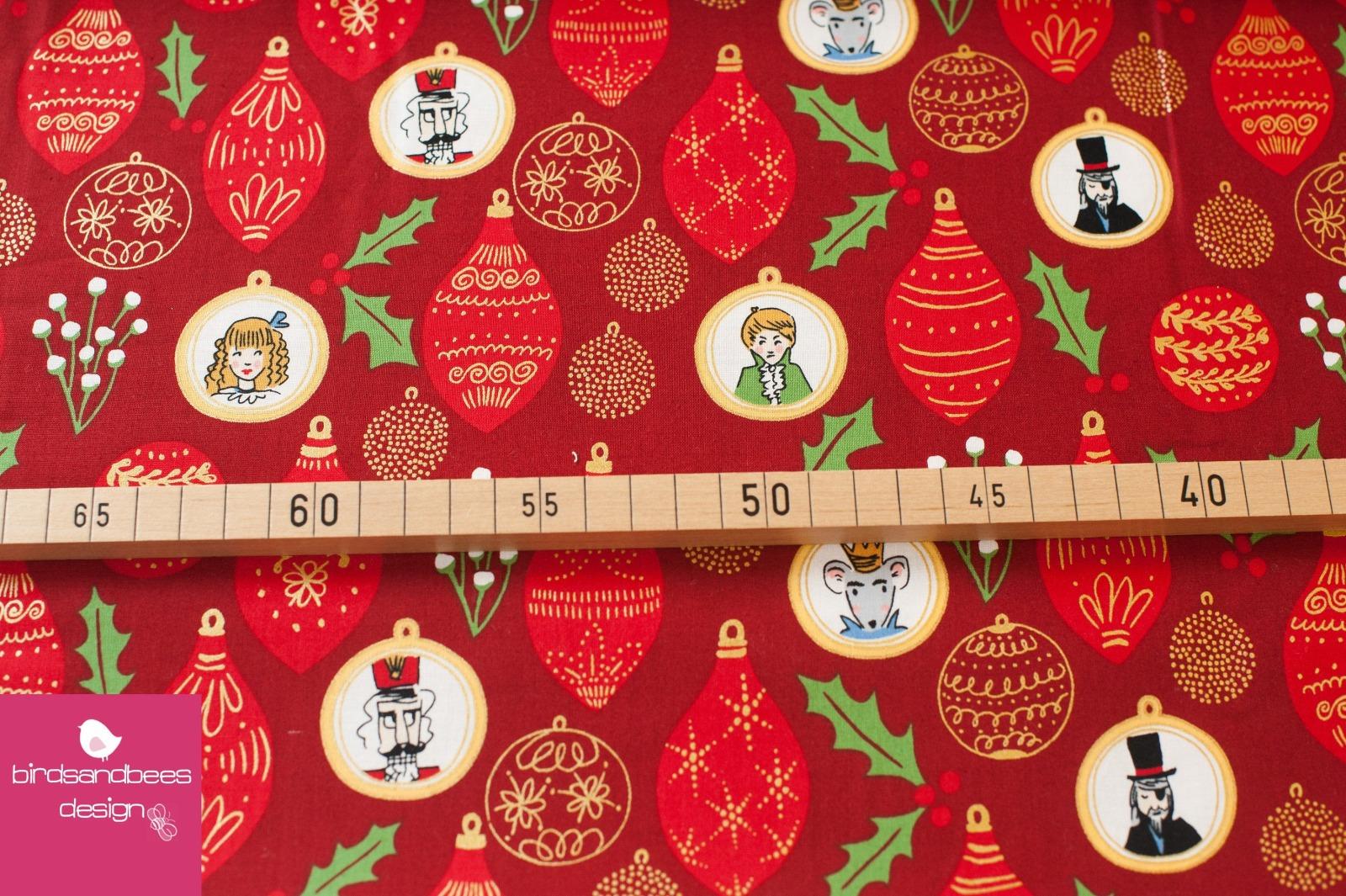 NUTCRACKER ornaments red by Sarah Jane