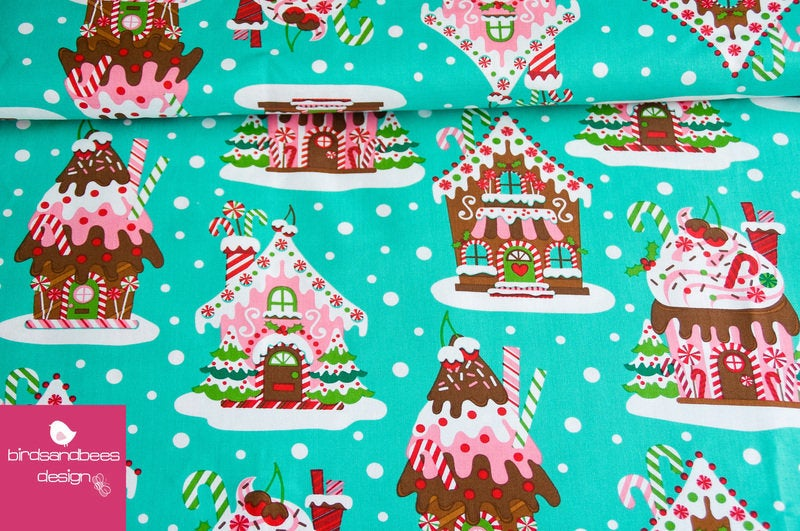 Gingerbread Houses by Michael Miller