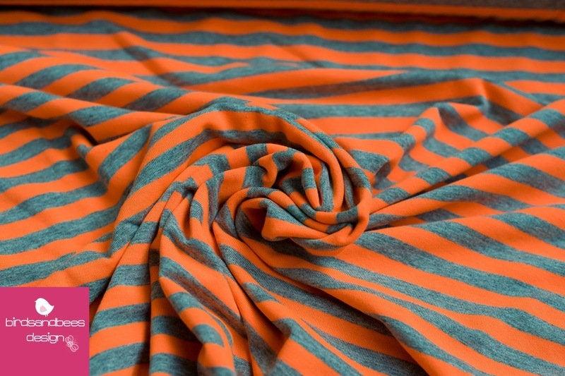 Jersey Sreifen neon-orange