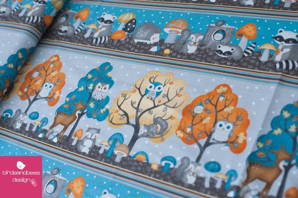 Cute Critters Streifen by Wilmingtonprints