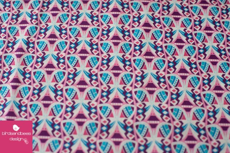 FLUTTER FLIRT Baumwolle lila by Jolijou